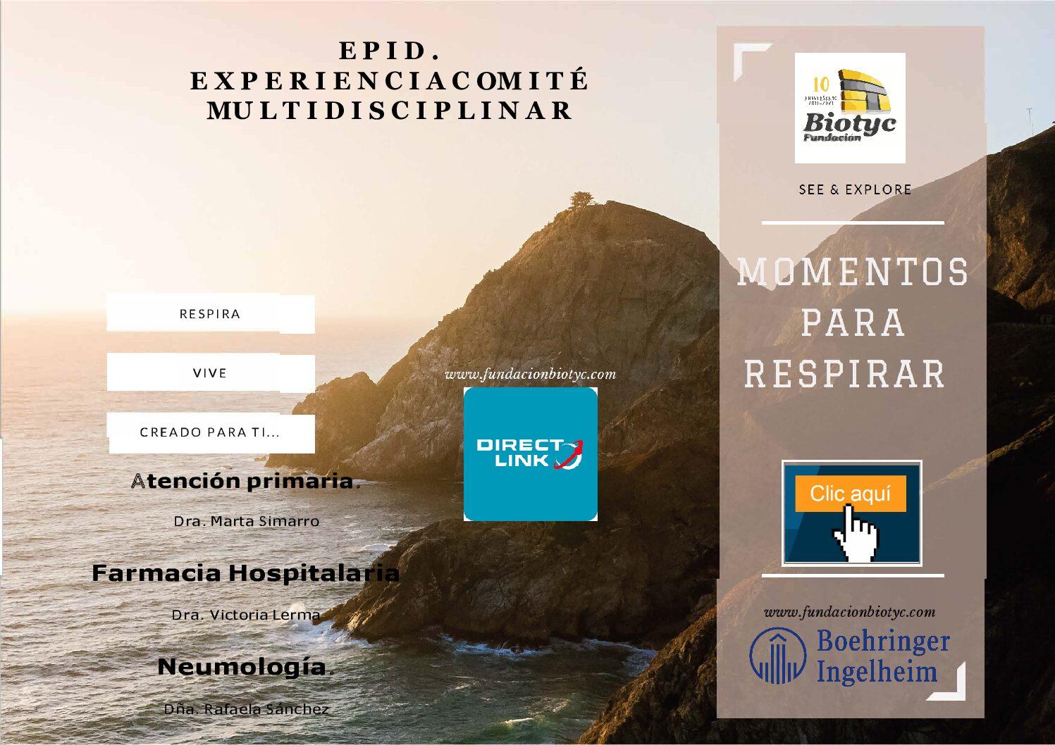 EPID experiencias en comité multidisciplinar