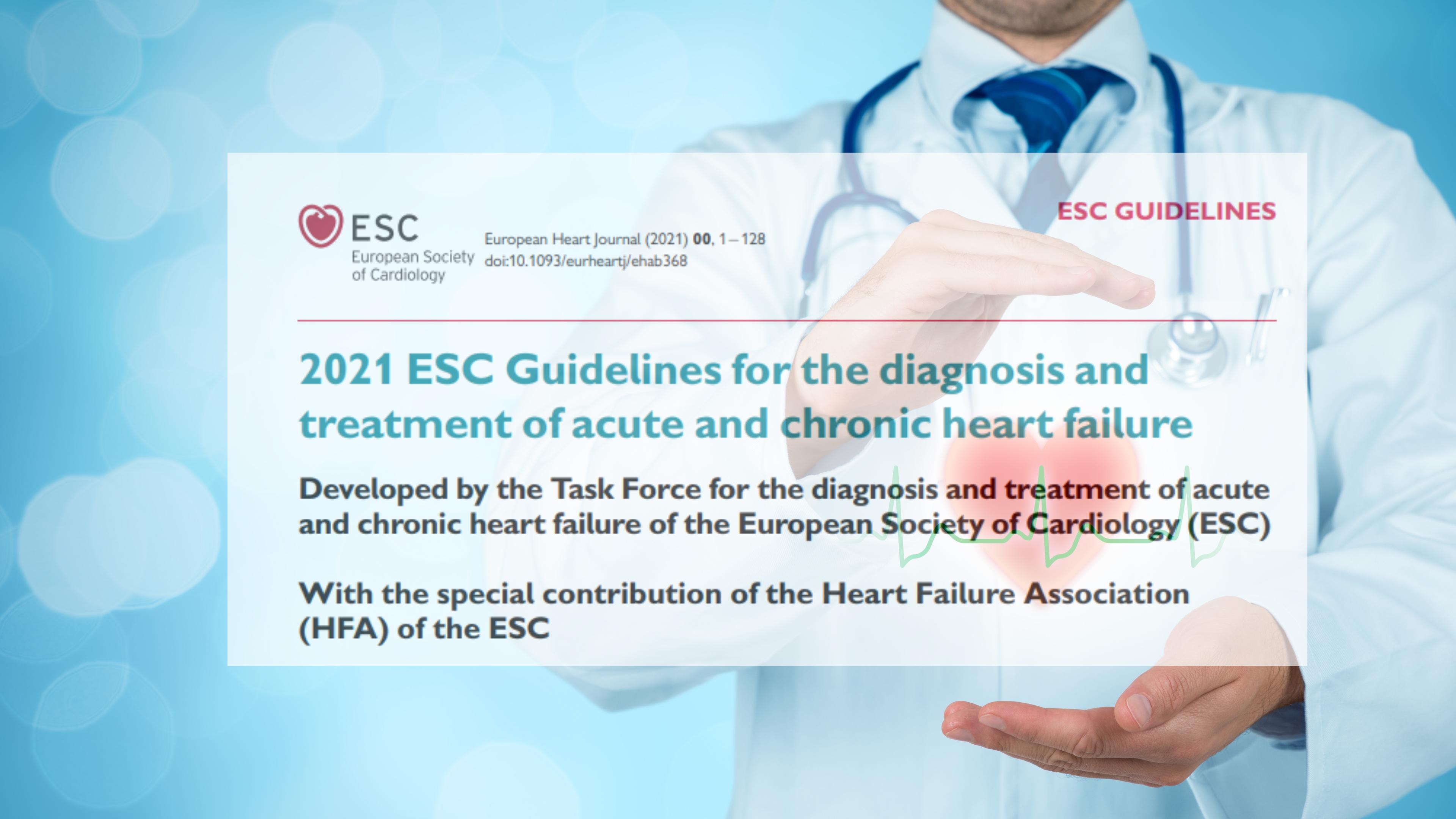 Nueva Guía de Insuficiencia cardíaca ESC 2021